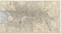 Map of London and its vicinity