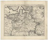 [04]. Carte particuliere des environs d'Anvers, Gand, Hulst, et de tout le Pays de Waes. et le Marquisat du St. Empire