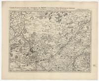 [09]. Carte particuliere des environs de Menin, Courtray, Ypre, Dixmude, et Deynse