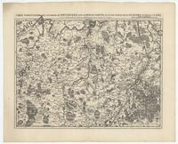 [10]. Carte particuliere des environs de Bruxelles, avec le Bois de Soigne, et d'une partie de la Flandre jusques à Gand