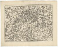 [11]. Carte particuliere des environs de Louvain, Aerschot, Diest, Tirlemont, Leau, Iudogne, Malines, et de partie ... de Liege