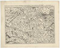 [14]. Carte particuliere des environs d'Arthois du Boulenois et d'une partie de la Picardie