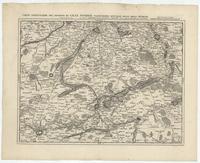 [15]. Carte particuliere des environs de Lille, Tournay, Valenciennes, Bouchain, Douay, Arras, Bethune