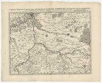 [18]. Carte particuliere des environs de Liege, Limbourg, et partie de Luxembourg