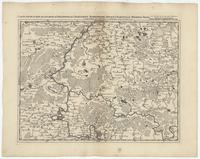 [23]. Carte particuliere des environs de Philippeville, Charlemont, Marienbourg, Rocroy, Charleville, Mezieres, Sedan