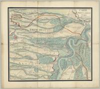 Carte depuis Landeau jus'qua Philisbourg