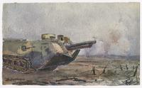 Watercolour, 16 April 1917