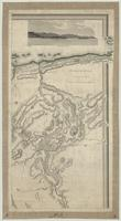 This topographical map of the districts of Quebec, Three Rivers, St. Francis and Gaspé, Lower Canada