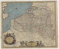 A new map of Flanders & the other provinces of the Spanish Netherlands with part of England, Holland, France &c.