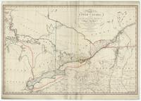 A map of the province of Upper Canada, describing all the new settlements, townships, &c.