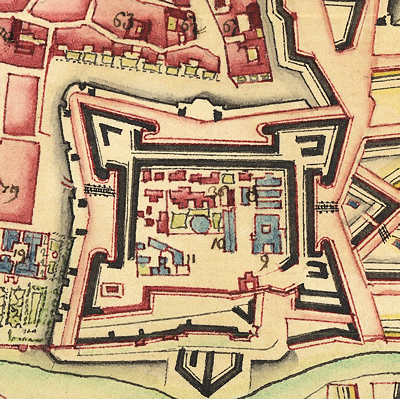City Fortifications and Environs