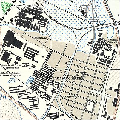 Japan City Plans 1:12,500