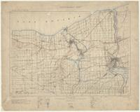 Niagara, ON. 1:63,360. Map sheet 030M03, [ed. 3], 1908