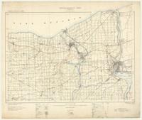 Niagara, ON. 1:63,360. Map sheet 030M03, [ed. 4], 1915