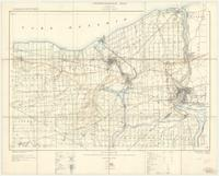 Niagara, ON. 1:63,360. Map sheet 030M03, [ed. 5], 1920