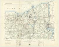 Niagara, ON. 1:63,360. Map sheet 030M03, [ed. 8], 1930