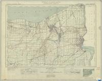 Niagara, ON. 1:63,360. Map sheet 030M03, [ed. 9], 1938