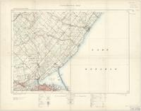 Hamilton, ON. 1:63,360. Map sheet 030M05, [ed. 4], 1923