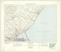 Hamilton, ON. 1:63,360. Map sheet 030M05, [ed. 6], 1938