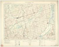 Alliston, ON. 1:63,360. Map sheet 031D04, [ed. 2], 1933