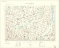 Alliston, ON. 1:63,360. Map sheet 031D04, [ed. 4], 1938