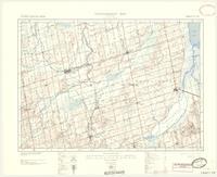Alliston, ON. 1:63,360. Map sheet 031D04, [ed. 5], 1940