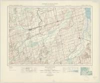 Alliston, ON. 1:63,360. Map sheet 031D04, [ed. 6], 1949