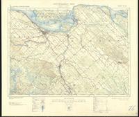 Arnprior, ON. 1:63,360. Map sheet 031F08, [ed. 3], 1939