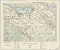 Arnprior, ON. 1:63,360. Map sheet 031F08, [ed. 5], 1943