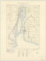 Amherstburg, ON. 1:63,360. Map sheet 040J03, [ed. 1], 1910