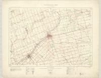 Woodstock, ON. 1:63,360. Map sheet 040P02, [ed. 1], 1914
