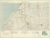 Port Elgin, ON. 1:63,360. Map sheet 041A05-A06, [ed. 1], 1946