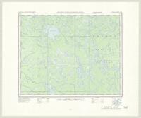 Aikens Lake, ON. 1:63,360. Map sheet 052M03, [ed. 1], 1951