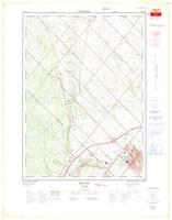 Milton, ON. 1:25,000. Map sheet 030M12D, [ed. 1], 1974