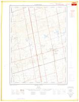 King City, ON. 1:25,000. Map sheet 030M13H, [ed. 1], 1963