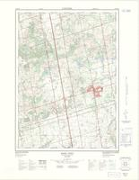 King City, ON. 1:25,000. Map sheet 030M13H, [ed. 2], 1972