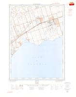 Ajax, ON. 1:25,000. Map sheet 030M14A, [ed. 1], 1963