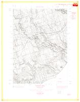 Highland Creek, ON. 1:25,000. Map sheet 030M14B, [ed. 1], 1961
