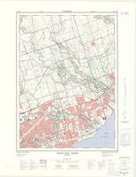Highland Creek, ON. 1:25,000. Map sheet 030M14B, [ed. 3], 1974