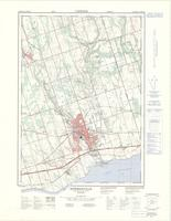Bowmanville, ON. 1:25,000. Map sheet 030M15G, B, [ed. 2], 1976