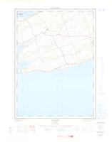 Hillier, ON. 1:25,000. Map sheet 030N14E, [ed. 1], 1963