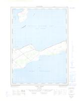 Long Point, ON. 1:25,000. Map sheet 030N15E, [ed. 1], 1963