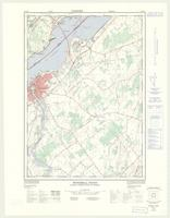 Windmill Point (Ogdensburg East), ON. 1:25,000. Map sheet 031B11E, [ed. 2], 1976