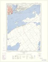 Wolfe Island, ON. 1:25,000. Map sheet 031C01E, [ed. 1], 1959