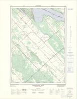 Constance Bay, ON. 1:25,000. Map sheet 031F08H, [ed. 2], 1971