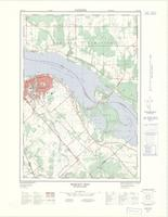 Hazley Bay, ON. 1:25,000. Map sheet 031F14A, [ed. 1], 1974