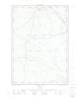 Tucker Lake, ON. 1:25,000. Map sheet 031F14E, [ed. 1], 1962