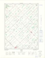 Appin, ON. 1:25,000. Map sheet 040I13B, [ed. 1], 1972