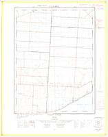 Cedar Creek, ON. 1:25,000. Map sheet 040J02C & 040G15F, [ed. 1], 1960