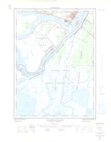 Walpole Island, ON. 1:25,000. Map sheet 040J10A, [ed. 1], 1963